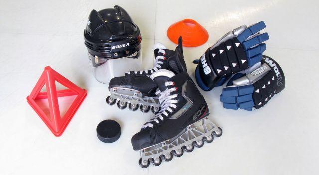 коньки для синтетического льда